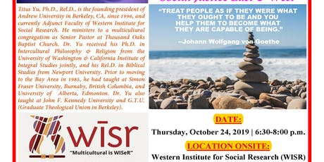 Social Justice East and West in Social Philosophy tickets