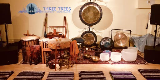 SoulMonic sound healing w/ Three Trees! Sonic medicine Journey <3