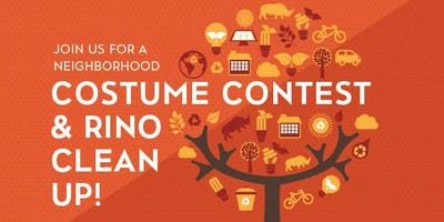 Neighborhood Cleanup and Costume Contest