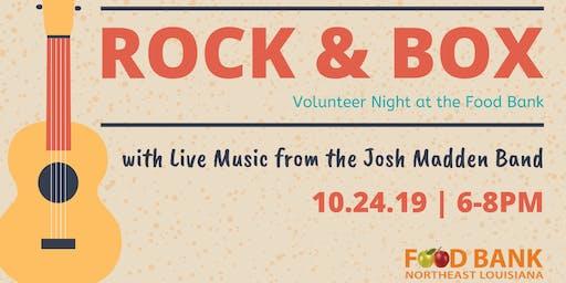 Rock N Box at the Food Bank 2019