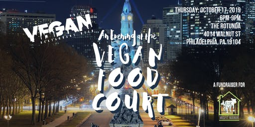 An Evening at the PVRW Vegan Food Court