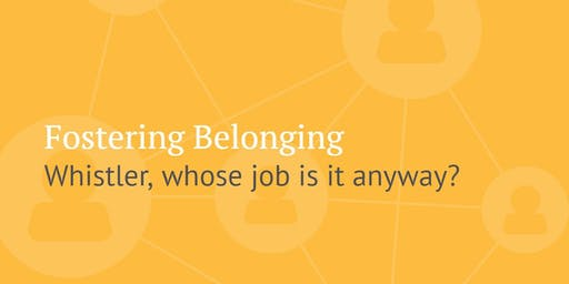 Vital Café: Fostering belonging - whose job is it anyway?