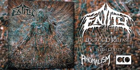 Entity local CD release with Anomalism and CO tickets