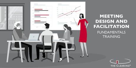 Meeting Design and Facilitation Fundamentals Training tickets