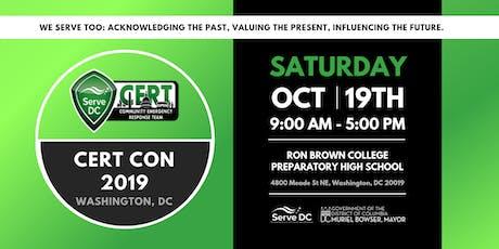 CERT Con 2019 - Washington D.C. tickets