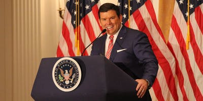 Bret Baier at the Nixon Library
