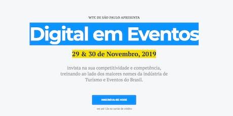 Digital em Eventos: Comunidades + Geração de Receitas ingressos