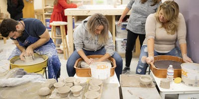 One time Pottery Wheel Workshop (Dates for November & December)