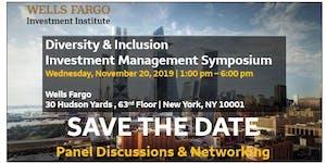 UPDATE - Wells Fargo Diversity & Inclusion Investment...
