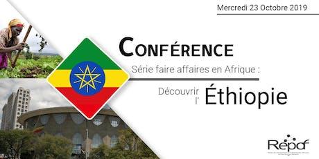 Conférence téléphonique sur les Opportunités d'Affaires en Éthiopie billets