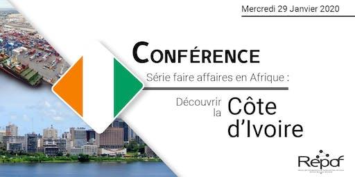 Conférence téléphonique sur les Opportunités d'Affaires en Côte d'Ivoire