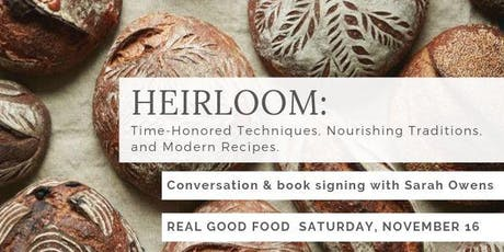Book Signing with James Beard award-winning author & baker Sarah Owens tickets