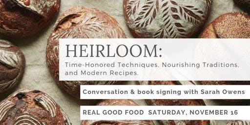 Book Signing with James Beard award-winning author & baker Sarah Owens