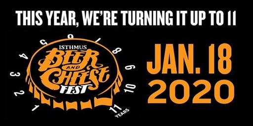 Isthmus Beer & Cheese Fest 2020