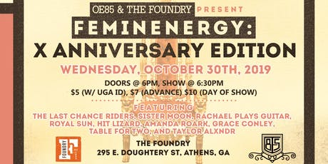 Feminenergy: X Anniversary Edition tickets