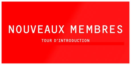 INTRO | Tour d'introduction à LESPACEMAKER (nouveaux membres) tickets