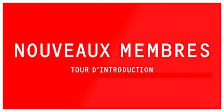 INTRO | Tour d'introduction à LESPACEMAKER (nouveaux membres) tickets