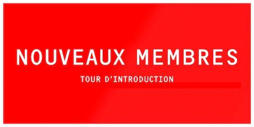 INTRO | Tour d'introduction à LESPACEMAKER (nouveaux membres)