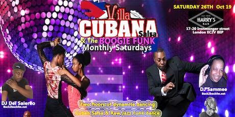 Villa Cubana Salsa & The Boogie Funk tickets