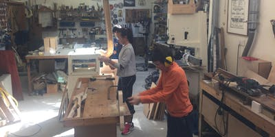 Half term, Junior - 31st October. Junior Woodwork class, age 10+