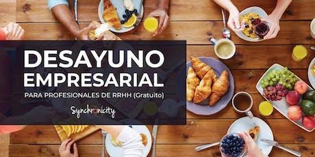 Desayunos Empresariales Synchronicity entradas