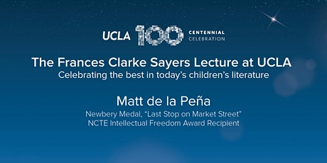 2020 Frances Clarke Sayers Lecture | Matt de la Peña tickets