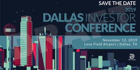 Dallas Investor Conference tickets