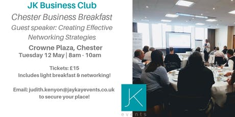 JK Business Club Chester Breakfast tickets