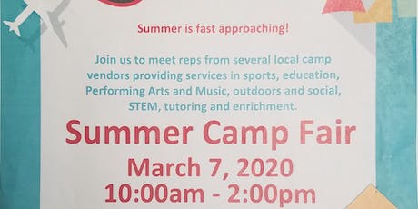 Summer Camp Fair tickets