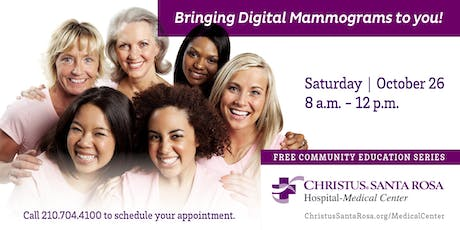 Mobile Mammography Unit tickets