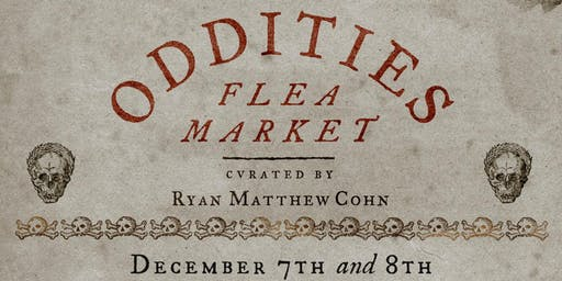 Saturday Oddities Flea Market NYC General Admission 12pm
