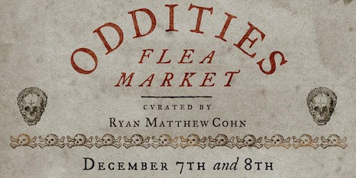 Sunday Oddities Flea Market NYC General Admission 12pm