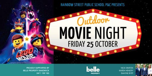 Outdoor Movie Night - Rainbow Street Public School