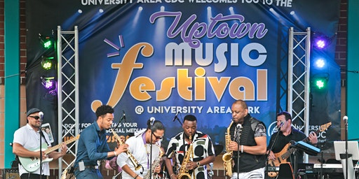 2020 Uptown Music Festival benefiting University Area CDC