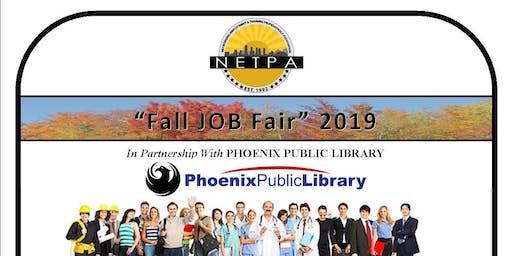 "NETPA ""Fall JOB Fair"" 2019"