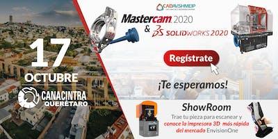 Lanzamiento SolidWorks & Mastercam 2020, Querétaro