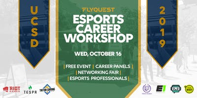 FlyQuest Esports Career Workshop at UCSD