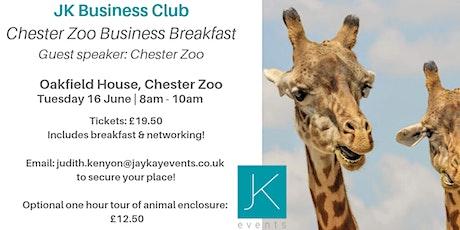 JK Business Club Chester Breakfast tickets