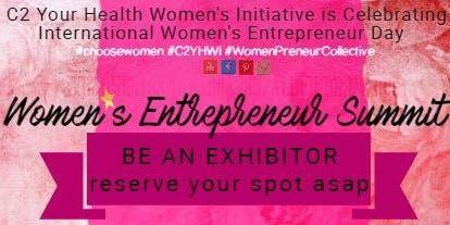 EXHIBITOR Women's Entrepreneur Summit Nov. 19th (#C2YHWI)