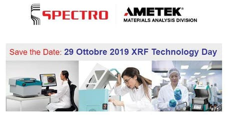 SPECTRO XRF TECHNOLOGY DAY biglietti
