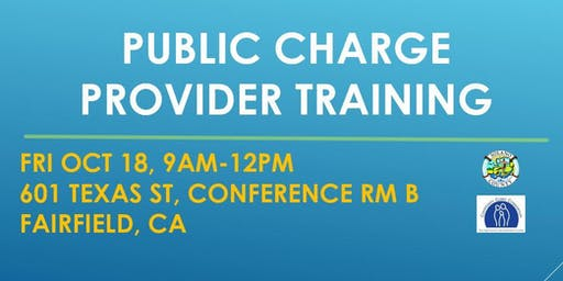 Public Charge Provider Training