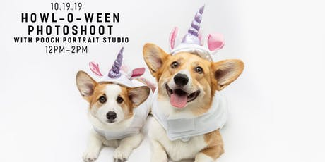 Howl-o-Ween Photoshoot with Pooch Portrait Studio tickets