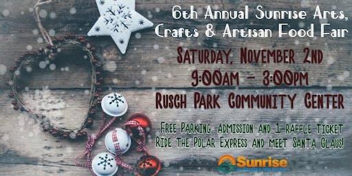 6th Annual Sunrise Craft Fair
