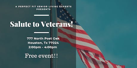 Salute To Freedom VETERANS  CELEBRATION tickets