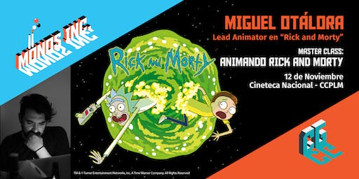 Masterclass: Animando Rick and Morty