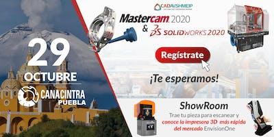 Lanzamiento SolidWorks & Mastercam 2020, Puebla