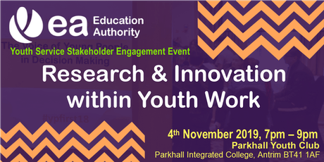 Stakeholder Engagement - Research & Innovation in Youth Work tickets