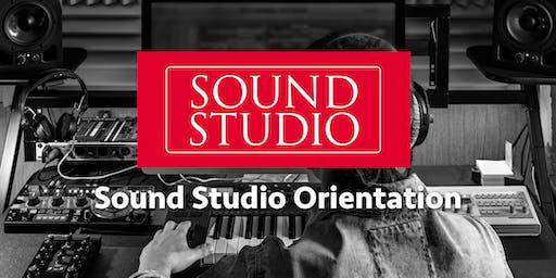 Orientation to Sound Studio