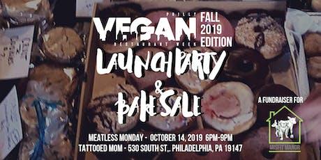 Philly Vegan Restaurant Week Fall 2019 Launch Party & Vegan Bake Sale! tickets