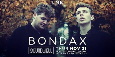 Bondax tickets